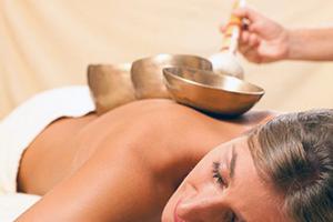 Klangschalen Massage
